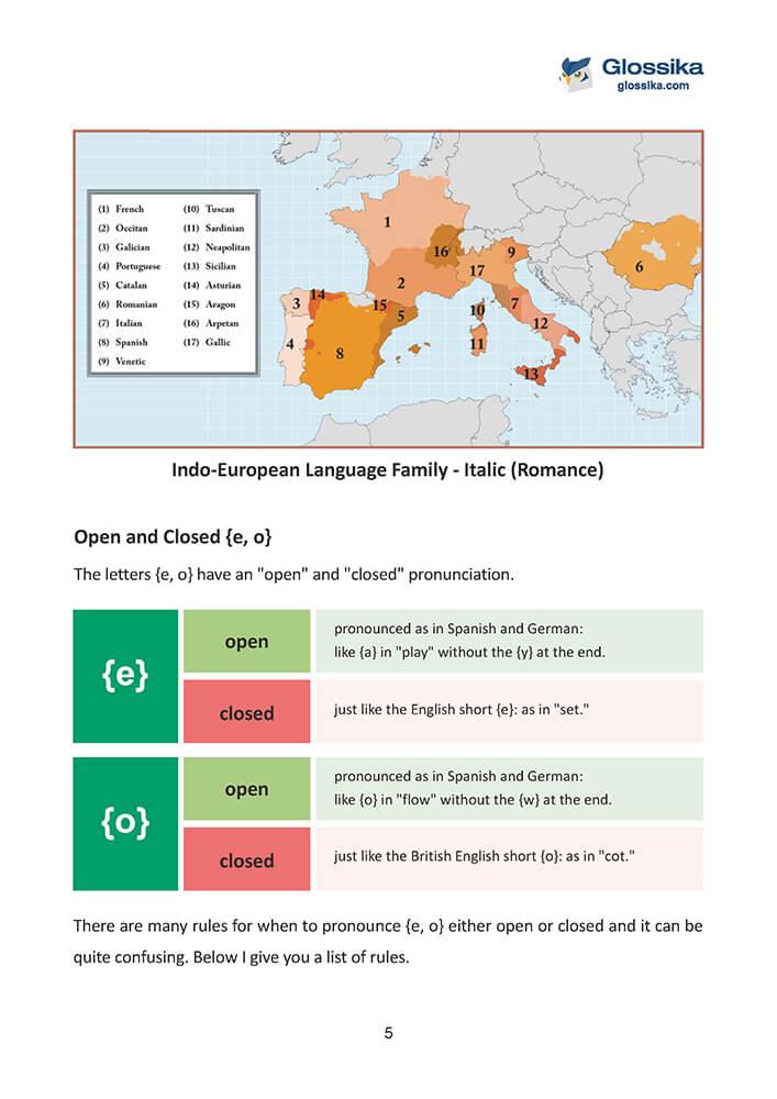 Glossika Guide to Italian Pronunciation & Grammar-2