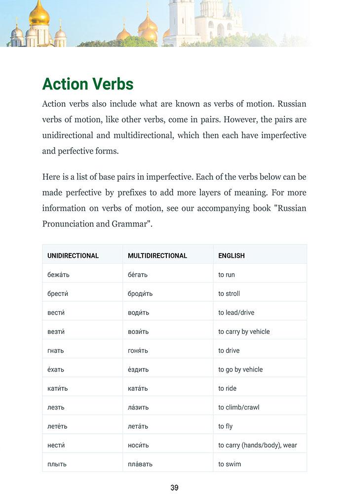 Guide Glossika pour débutants de la grammaire et de l'ordre des mots en russe-4