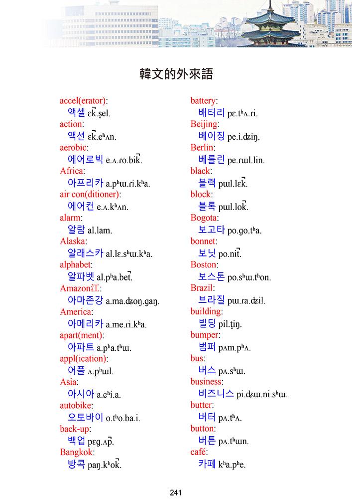 Glossika 韓文漢字對照工具書-4