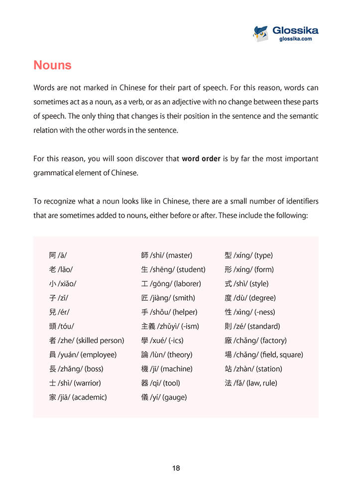 Glossika Guide to Chinese Pronunciation & Grammar-4
